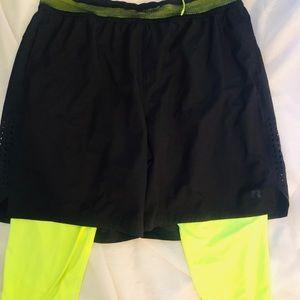 Men's Russell XL Training fit dri power shorts